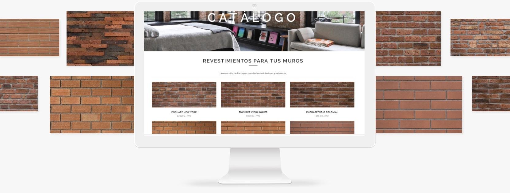 Catalogo muros ladrillo revestimientos mda - Revestimientos de muros exteriores ...
