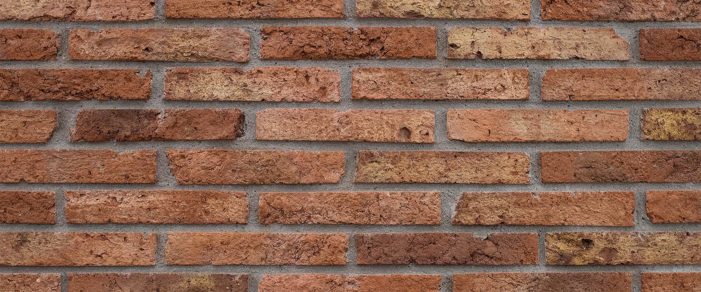 Enchape ladrillo arcilla piedra texturado mda - Revestimiento de ladrillo ...